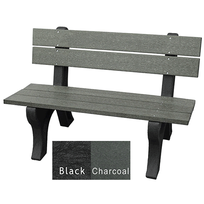 Economizer Traditional Backed Bench without Arms
