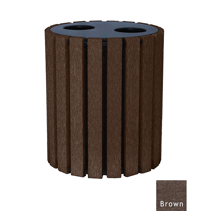 Double Duty Round Receptacle