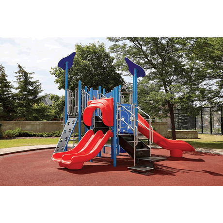 PlayFit Eco System School Age Playground