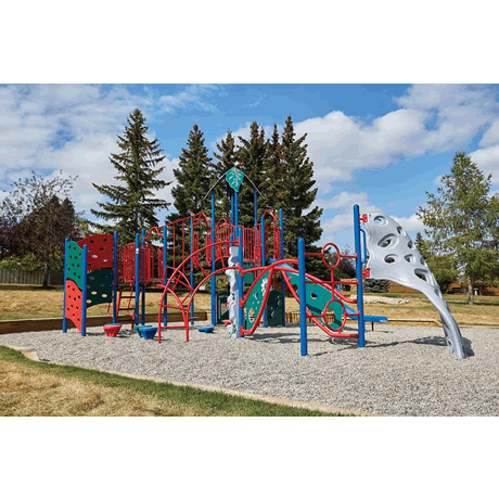 PlayFit Explorer School Age Playground
