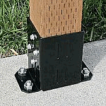Post Mounting Bracket (for 2 posts)